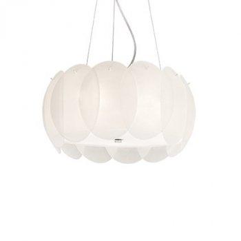 Подвесной светильник Ideal Lux Ovalino SP5 Bianco 074139