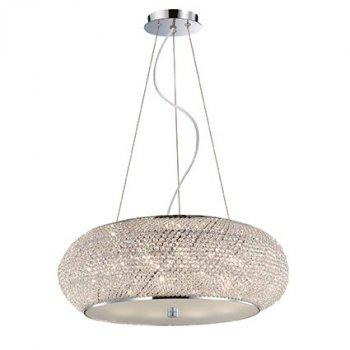 Подвесной светильник Ideal Lux Pasha' SP10 Cromo 082196