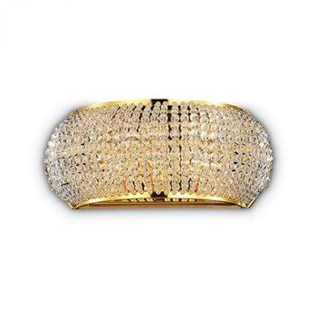Бра Ideal Lux Pasha' AP3 Oro 082288