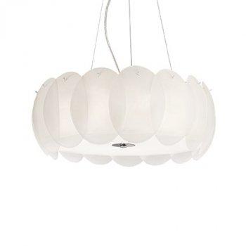Подвесной светильник Ideal Lux Ovalino SP8 Bianco 090481