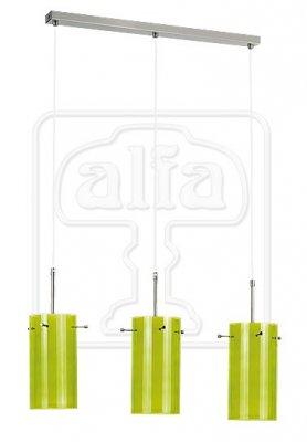 Подвесной светильник Alfa Bolt Zielony 13743