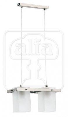 Подвесной светильник Alfa Eco Silver 14562