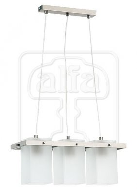 Подвесной светильник Alfa Eco Silver 14563