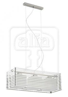 Подвесной светильник Alfa Cage Silver 13507