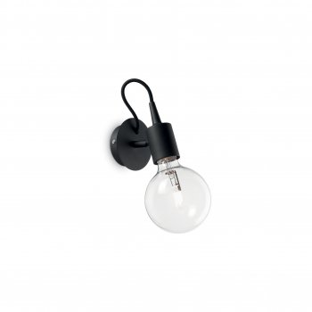 Бра Ideal Lux Edison Ap1 Nero 148908